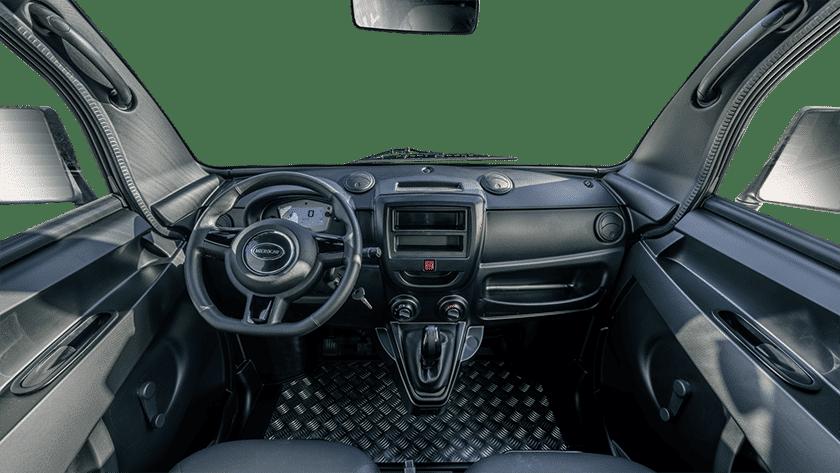 Microcar - Microcar M.Cross - voiture sans permis - intérieur utilitaire